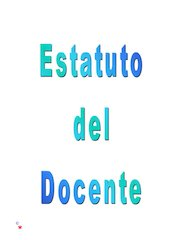 Documento PDF estatuto del docente