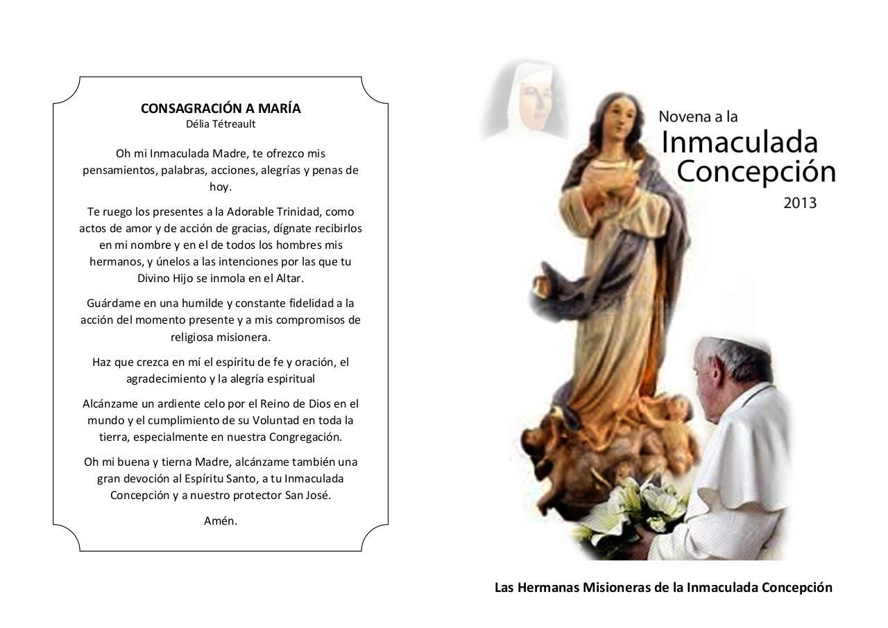 Novena Inmaculada Concepcion Por Monica Caja Pdf