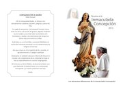 Documento PDF novena inmaculada concepcion