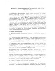 Documento PDF protocolo de acuerdo gobierno cut organizaciones gremiales sector p blico