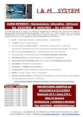 Documento PDF curso intensivo mantenimiento inform tico navidades2013