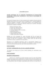 Documento PDF 20131113 acta ci protecci n ciudadana y movilidad 13 11 13