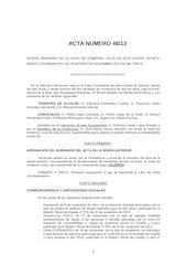 Documento PDF 20131126 acta junta de gobierno local ayto zamora 26 11 13 aprobada