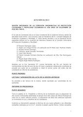 Documento PDF 20131206 acta ci protecci n ciudadana y movilidad 06 12 13