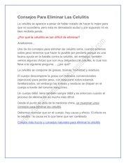 Documento PDF consejos para eliminar las celulitis