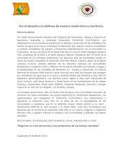 Documento PDF denuncia publica