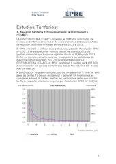 Documento PDF estudios tarifarios