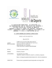 Documento PDF convocatoria 1a copa morelos curso largo