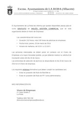 Documento PDF carta informativa