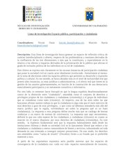 Documento PDF descriptor linea espacio publico