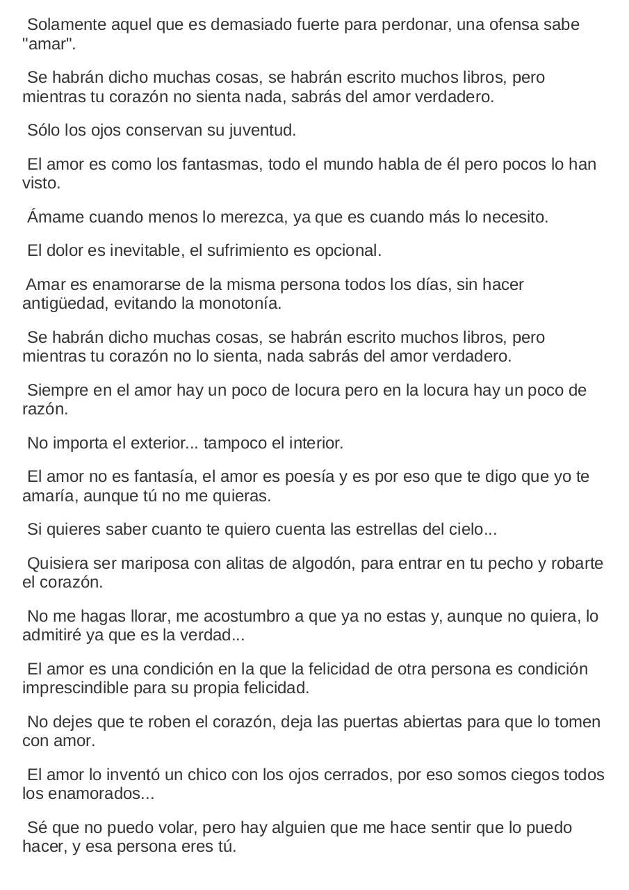 Frases Cortas De Amor Por Max Caja Pdf