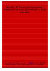 Documento PDF frases cortas de amor