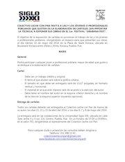 Documento PDF bases para convocatoria de cartel