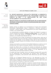 Documento PDF psoe ndp propuestas comisiones ayuntamiento zamora 24 04 2014