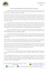 Documento PDF nota de la asociaci n sobre las noticias en relaci n a los autobuses