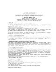 Documento PDF instrucciones regata 470 campeonato de madrid 2014