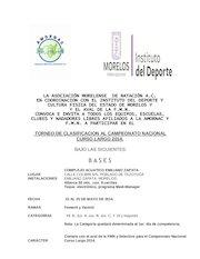 Documento PDF convocatoria torneo de clasificacion c l 2014