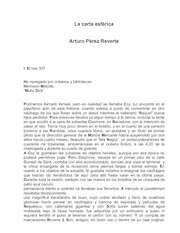 Documento PDF arturo perez reverte 2000 la carta esferica