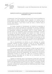 Documento PDF manifiesto en apoyo de la avv de san jose obrero defendamos la josa