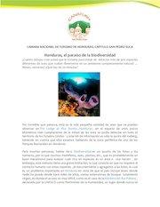 Documento PDF honduras el paraiso de la biodiversidad
