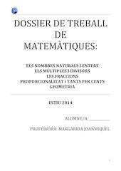 Documento PDF dossier ao estiu