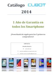 Documento PDF catalogo cubot agosto 2014