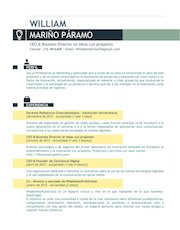 Documento PDF cv william marin o