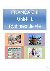 Documento PDF fr2 u1 rythmes de vies