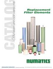 Documento PDF numatics catalogo elementos filtrantes de reemplazo oem