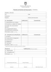 Documento PDF planilla de desempeno