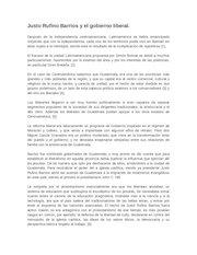 Documento PDF justo rufino barrios y el gobierno liberal