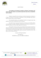 Documento PDF nota de prensa