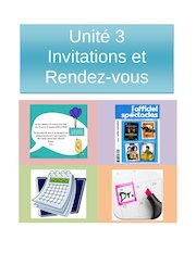 Documento PDF fr2 u3 invitations et rendez vous