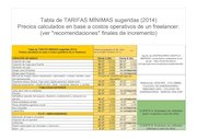 Documento PDF tarifas