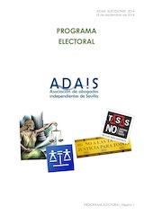 Documento PDF programa electoral elecciones 2014