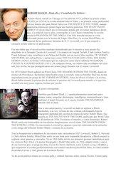 Documento PDF robert bloch biografia y compilado de relatos