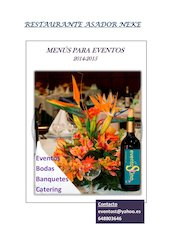 Documento PDF menus para eventos neke 1