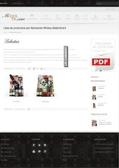 Documento PDF whisky ballantine s