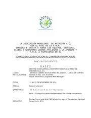 Documento PDF convocatoria torneo clasificacion