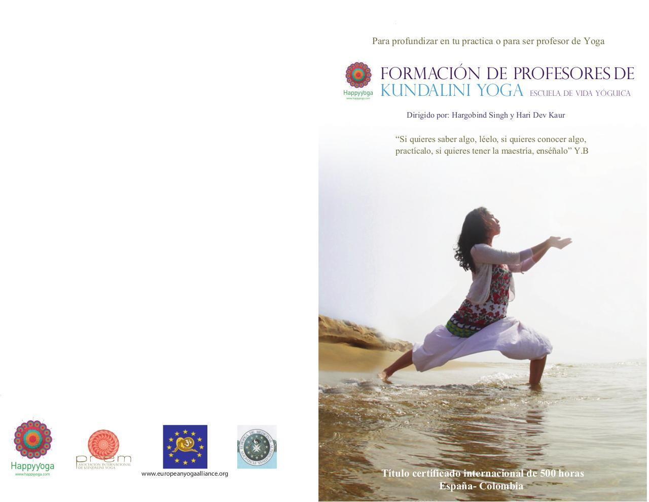 Folleto Happyyoga Medell 355n 12) por johanna - kundalini yoga 2015 ... 80e0d1038018