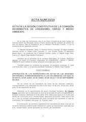 Documento PDF 20141022 acta ci urbanismo obras y medio ambiente