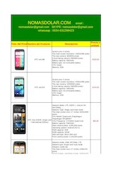 Documento PDF moviles todas las marcas nomasdolar com htc