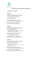 Documento PDF premios deportivos provinciales