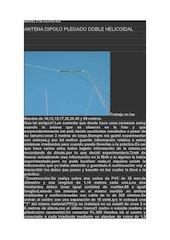 Documento PDF antena dipolo plegado doble helicoidal