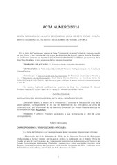 Documento PDF borrador acta n 50 2014 junta de gobierno local ayto zamora 09 12 14