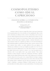 Documento PDF cosmopolitismo como ideal caprichoso 1