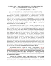 Documento PDF platina a 8 carriles fbk