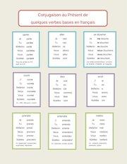 Documento PDF conjugaison des verbes au present