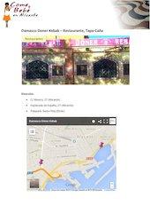 Documento PDF damasco doner kebab carta