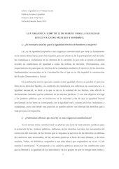 Documento PDF ley organica para la igualdad efectiva entre hombres y mujeres